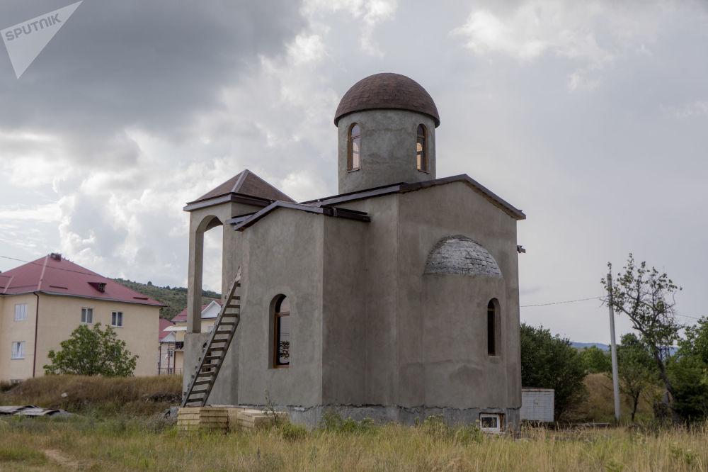 Строящийся храм в честь Иоанна Крестителя