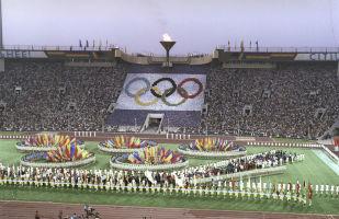 Торжественная церемония закрытия Игр XXII Олимпиады