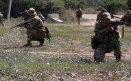 С Батальоном спецназа МО РЮО проведены контрольные занятия