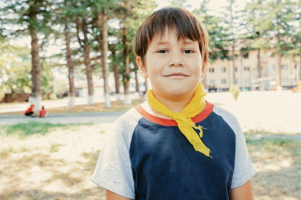 Детский лагерь на базе школы-интерната