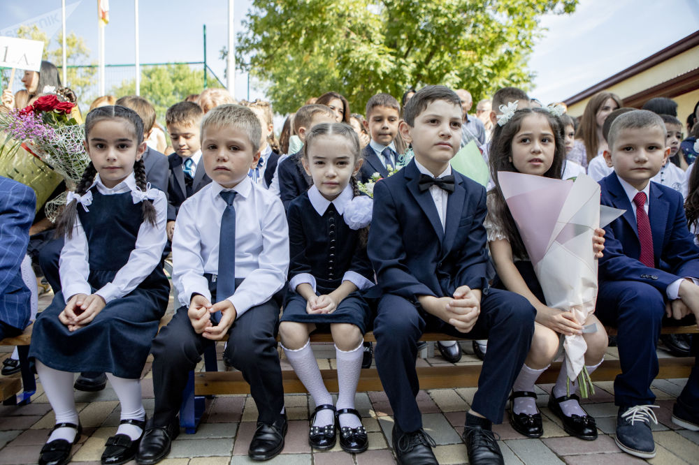 День знаний в Южной Осетии