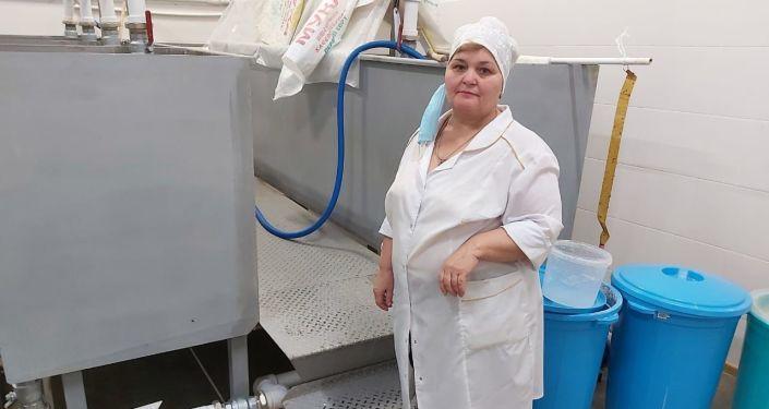 Мадина Плиева, лаборант хлебозавода