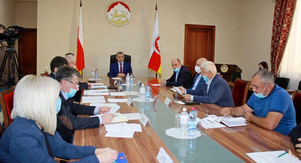 Заседание штаба по вопросам реализации Инвестиционной программы на 2020 год
