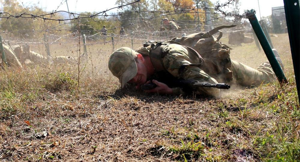 Спецназ Минобороны РЮО отработал прохождение Тропы разведчика