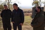Президент Анатолий Бибилов проинспектировал ход работ на строительных объектах в с. Цинагар Ленингорского района