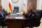 Встреча с Врио Министра внутренних дел Республики Южная Осетия Мерабом Пухаевым