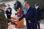 Анатолий Бибилов посетил военный полевой госпиталь Министерства обороны Российской Федерации