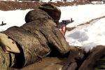 С военнослужащими Минобороны РЮО проводятся контрольные занятия по огневой подготовке