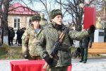 В Южной Осетии курсантов привели к военной присяге