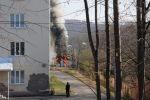 Пожар в инфекционной больнице