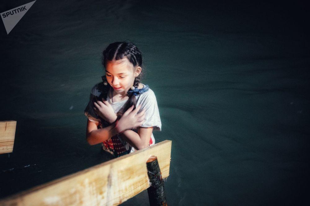 Праздник Крещения Господня в Южной Осетии