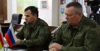 Встреча с Командующим 58-й армией Михаилом Зусько