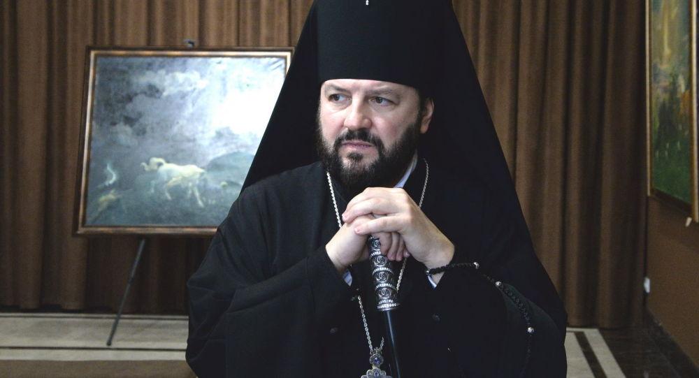 Архиепископ Владикавказский и Аланский Леонид посетил художественный музей имени Махарбека Туганова