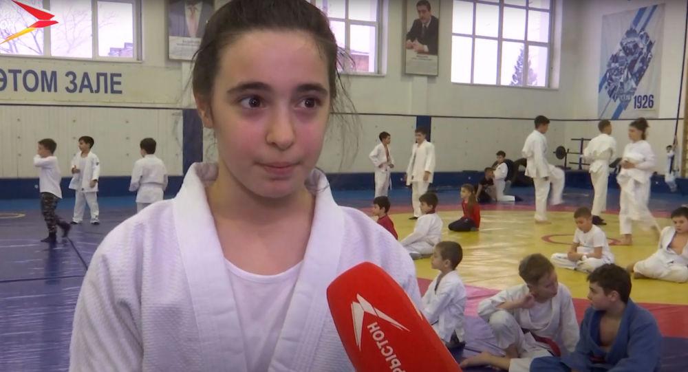 Теона Читаури заняла первое место на чемпионате и первенстве России по джиу-джитсу