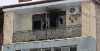 Сотрудник милиции спас четырех человек во время пожара в столице республики