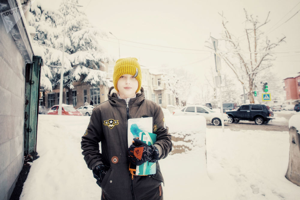Зима в Цхинвале
