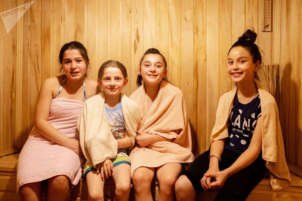 Дети из школы-интерната отдыхают в селе Згубир