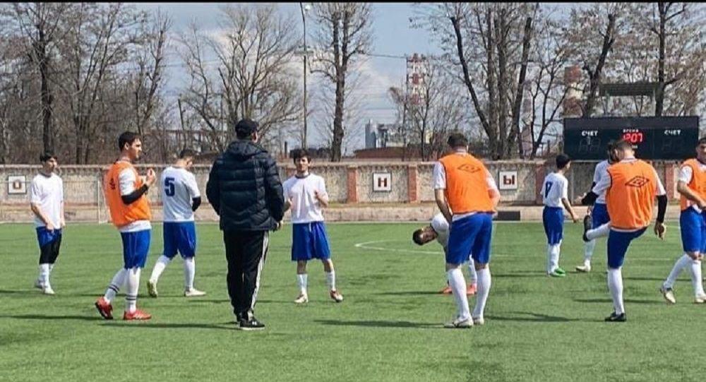 Футбольная команда Цхинвал выиграла матч у Щита Осетии