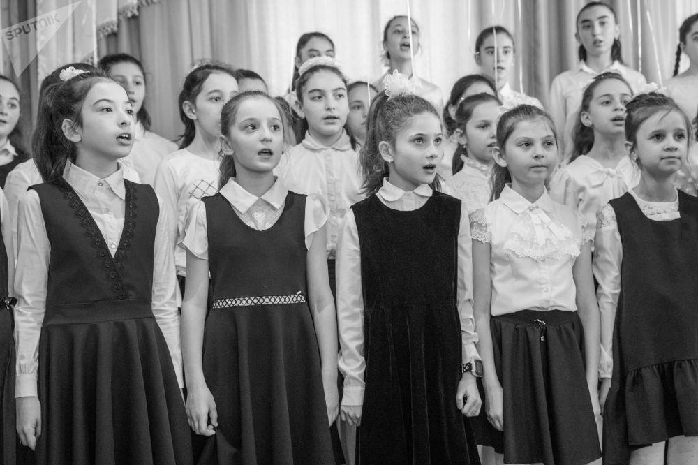 Отчетный концерт цхинвальской музыкальной школы
