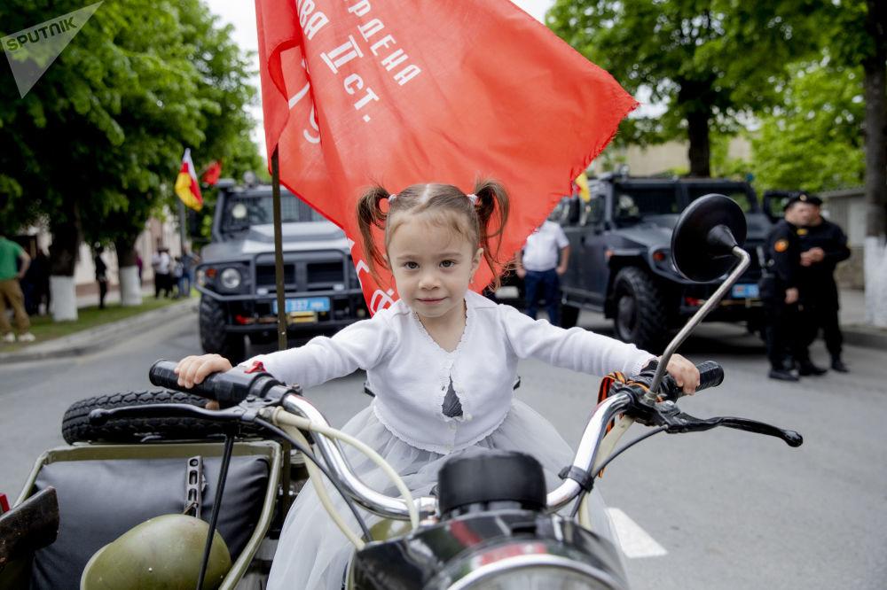 Парад Победы в Южной Осетии