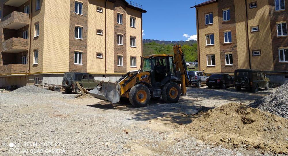 В Дзауском районе завершается строительство двух многоэтажных домов.