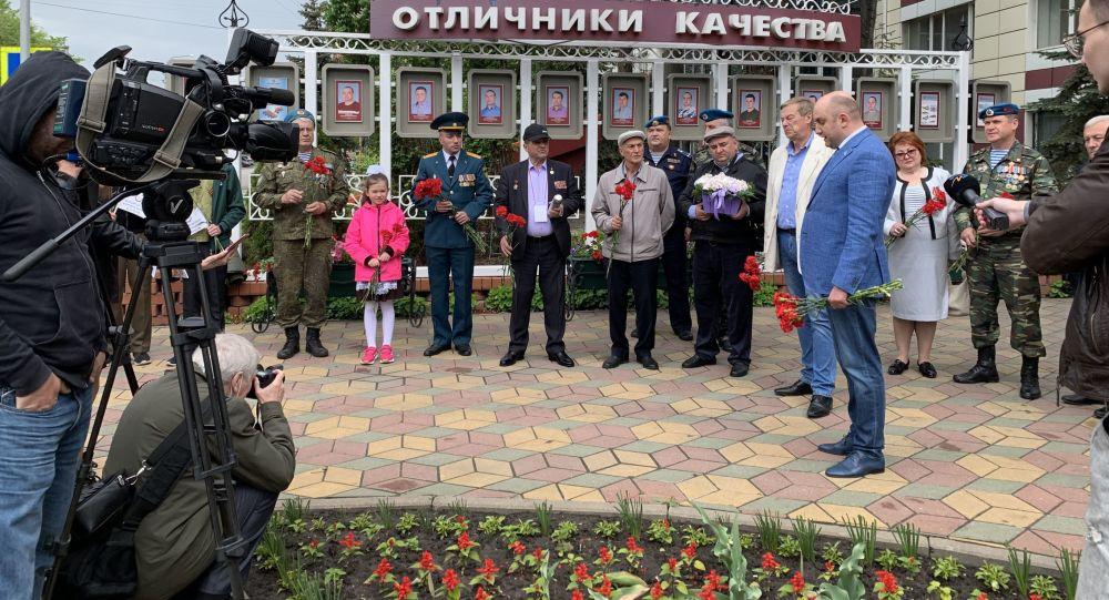 Представители посольства Южной Осетии приняли участие в литературно-патриотических чтениях Прохоровское поле