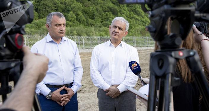 Анатолий Бибилов и Сергей Назаров