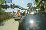 День России в Южной Осетии отмечали автопробегом – видео заезда по Цхинвалу