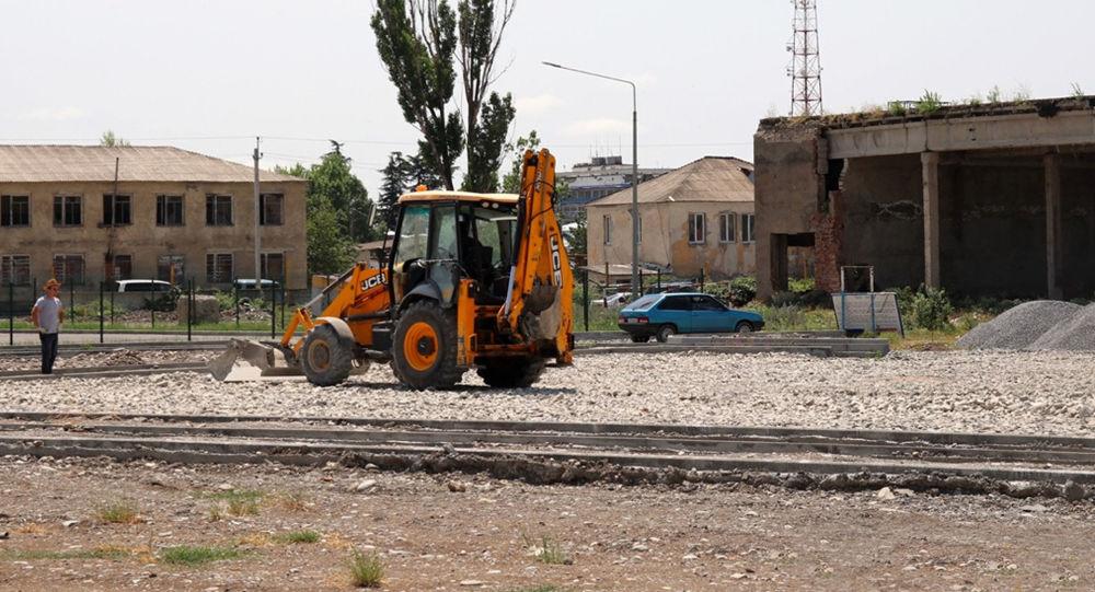 В Минобороны РЮО продолжается строительство спортивного городка