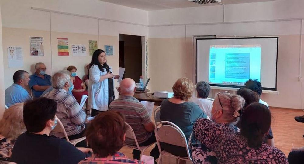 Минздрав Южной Осетии запустил Школу диабета в Знаурском районе