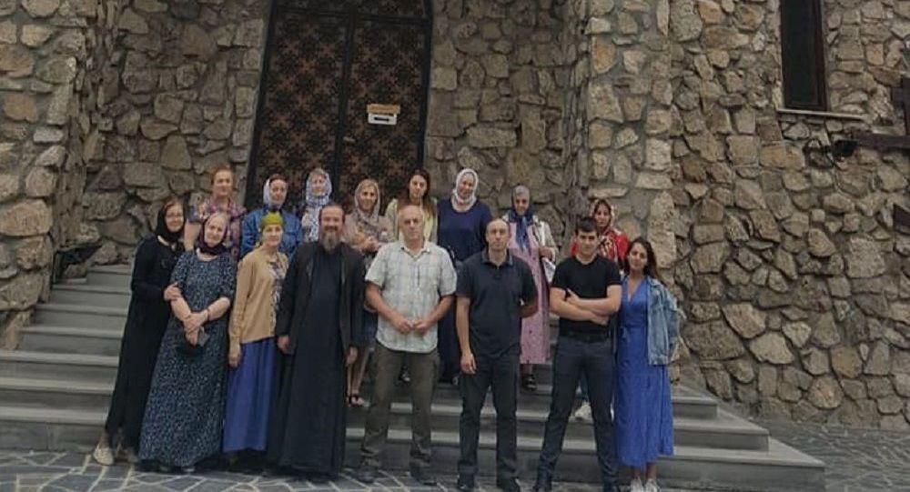 Православные Аланской епархии совершили паломническую поездку в Северную Осетию