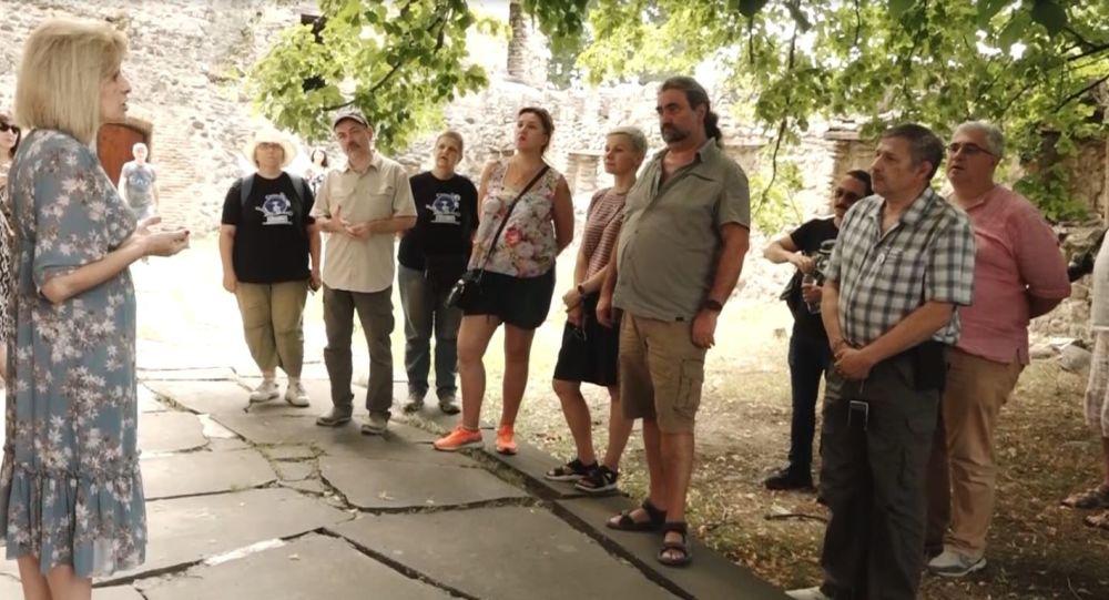 Визит делегации ДНР в Ленингорский район Южной Осетии