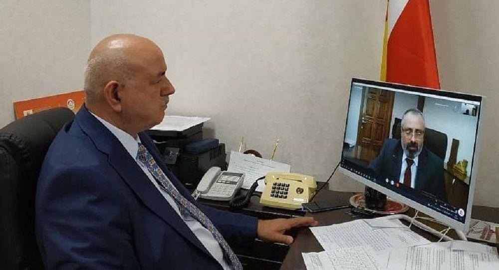 Главы МИД Южной Осетии и Арцаха обсудили перспективы сотрудничества на онлайн-встрече