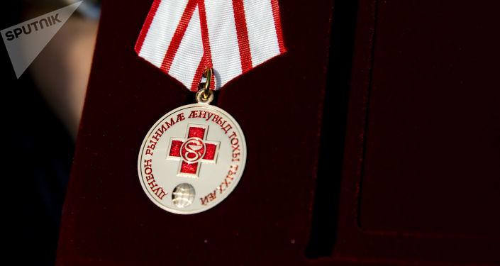 Медаль за борьбу с пандемией COVID-19