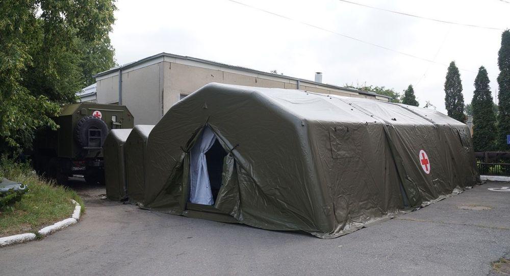 Военные медики инфекционного отделения ЮВО начали прием первых пациентов во Владикавказе