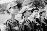 Приведение к присяге югоосетинских курсантов военных вузов РФ