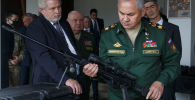 Министр обороны РФ генерал армии Сергей Шойгу на форуме Армия-2021