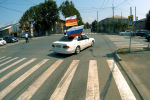 Автопробег в Цхинвале в честь Дня признания независимости – видео