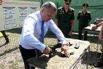 Гарантия безопасности Южной Осетии: Бибилов о выставке вооружения 4-й военной базы