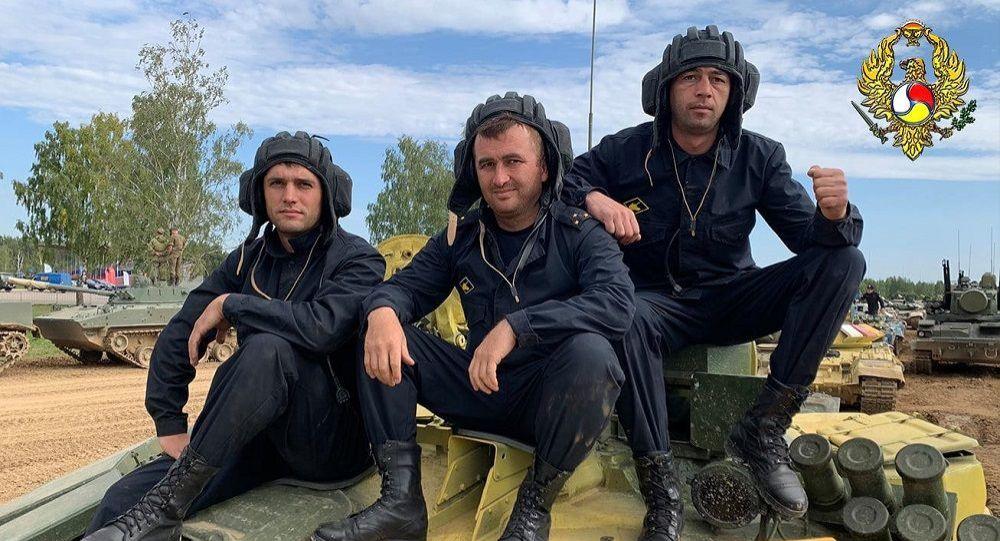 Команда Минобороны Южной Осетии