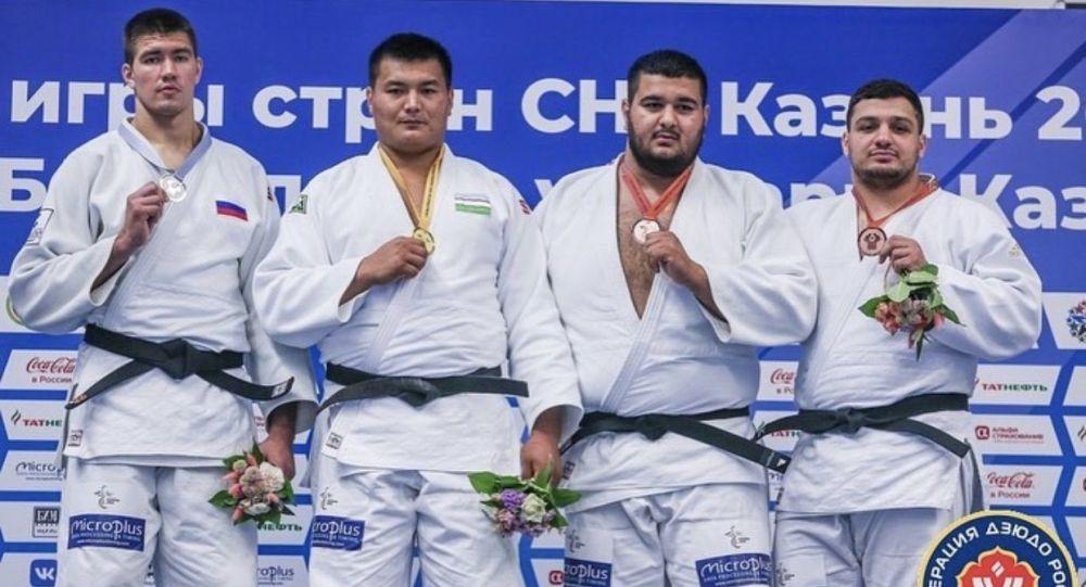 Две бронзовые медали завоевали осетинские дзюдоисты на Играх стран СНГ