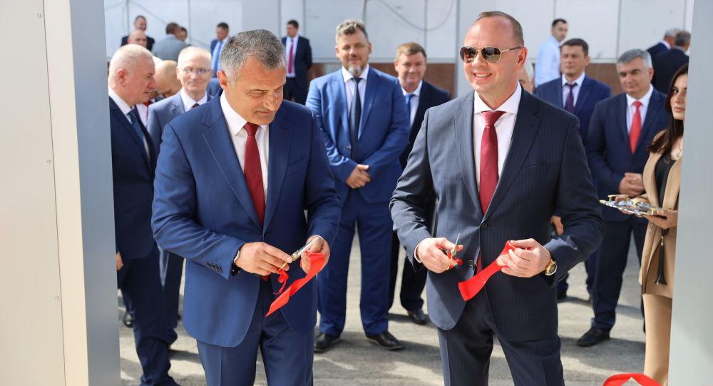 Открытие нового здания КГБ