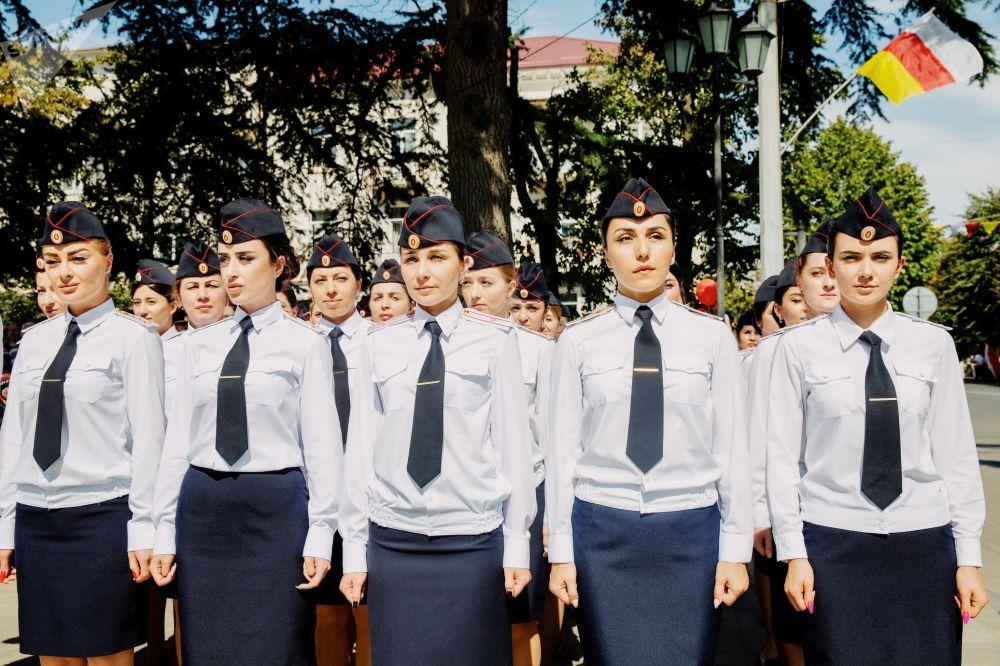 Военный парад в честь Дня Республики Южная Осетия