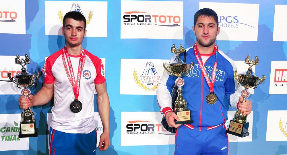 Арсен Хабалов и Сослан Гассиев