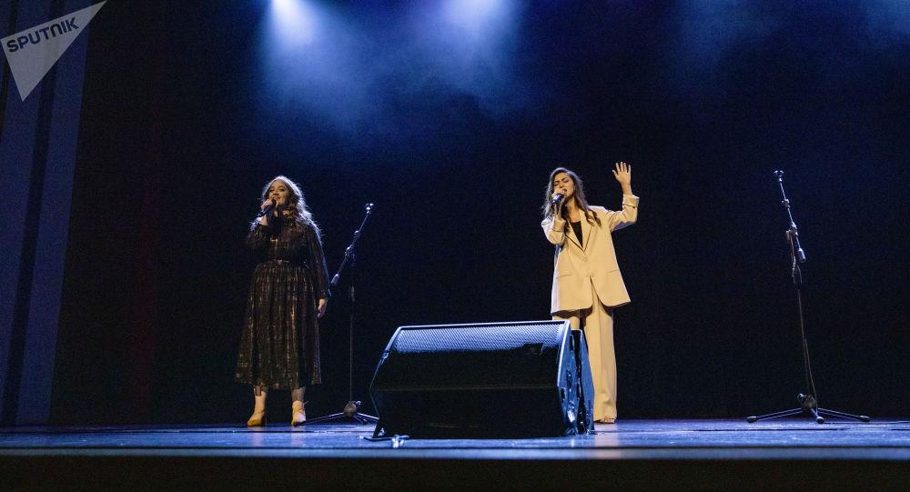Концерт Марии Кодалаевой и Любы Джиоевой
