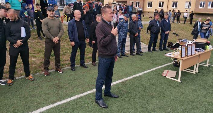 В Южной Осетии завершился турнир по футболу