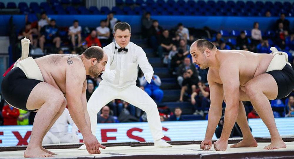 В осетинском финале на Кубке Европы по сумо победу праздновал Заур Караев
