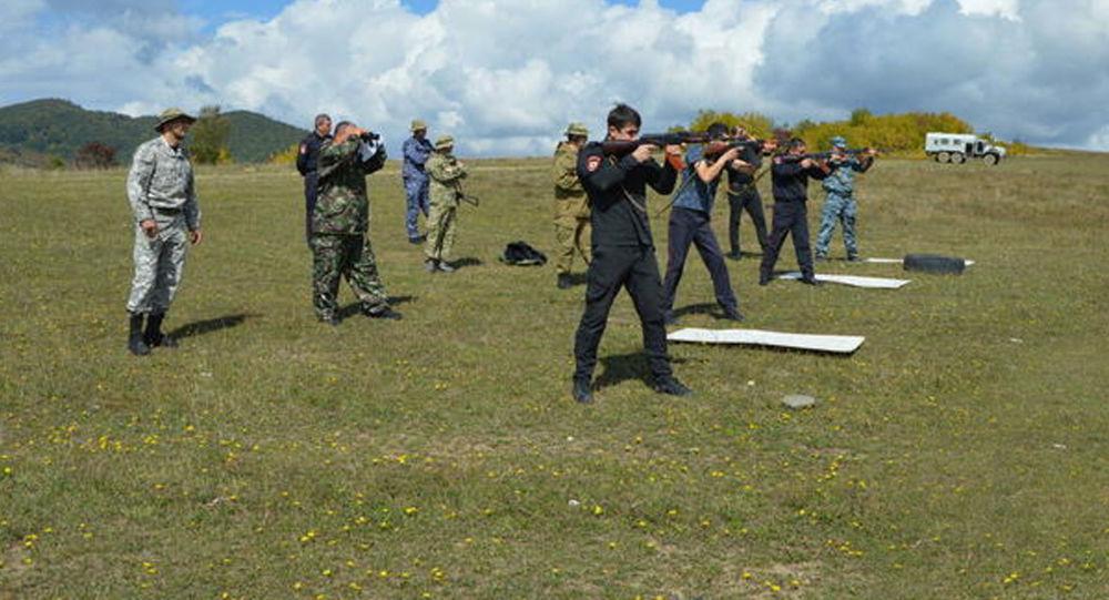 Личный состав УВД Цхинвальского района выполнил стрельбы из боевого огнестрельного оружия