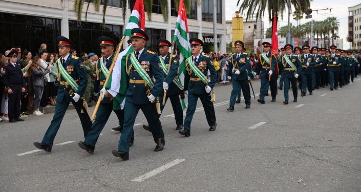 Возложение в Абхазии