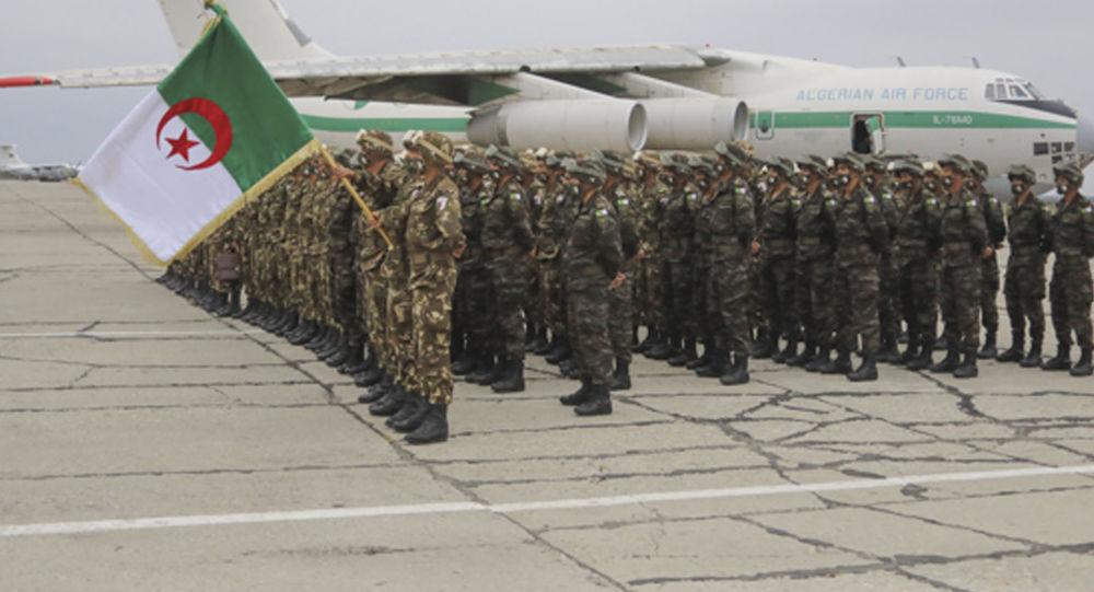 В Северную Осетию для участия в международном учении прибыли военнослужащие из Республики Алжир